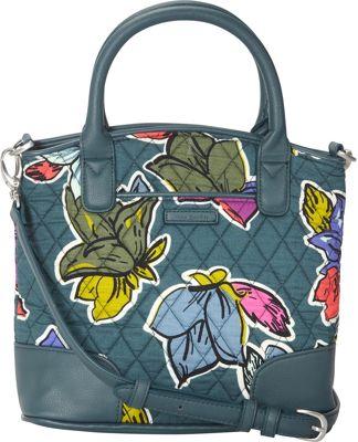 Vera Bradley Day Off Crossbody Falling Flowers - Vera Bradley Fabric Handbags