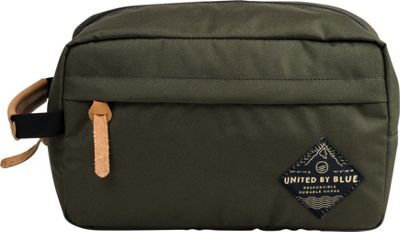 United by Blue Crest Travel Case Olive - United by Blue Toiletry Kits