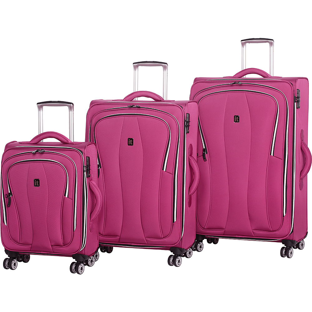 it luggage Daybreak 8 Wheel 3 Piece Luggage Set Malaga it luggage Luggage Sets