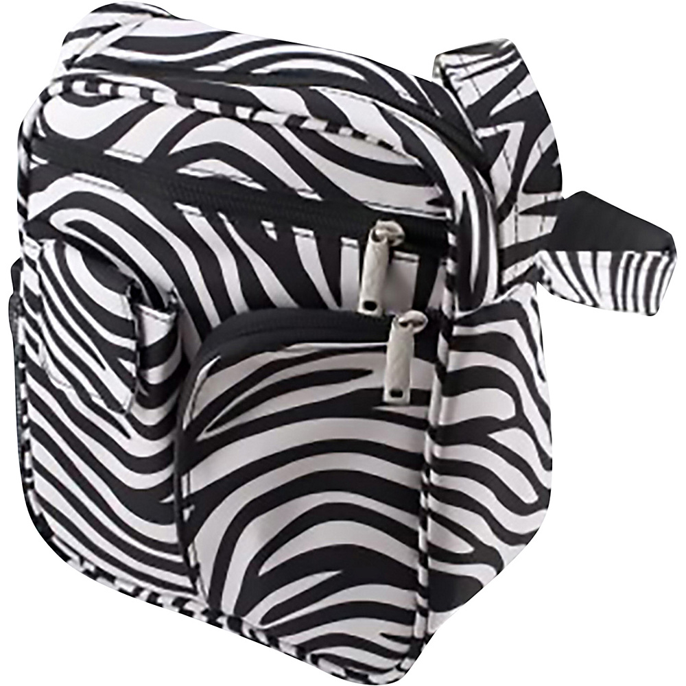 BeSafe by DayMakers Anti Theft Medium Security Guide Bag Zebra BeSafe by DayMakers Fabric Handbags