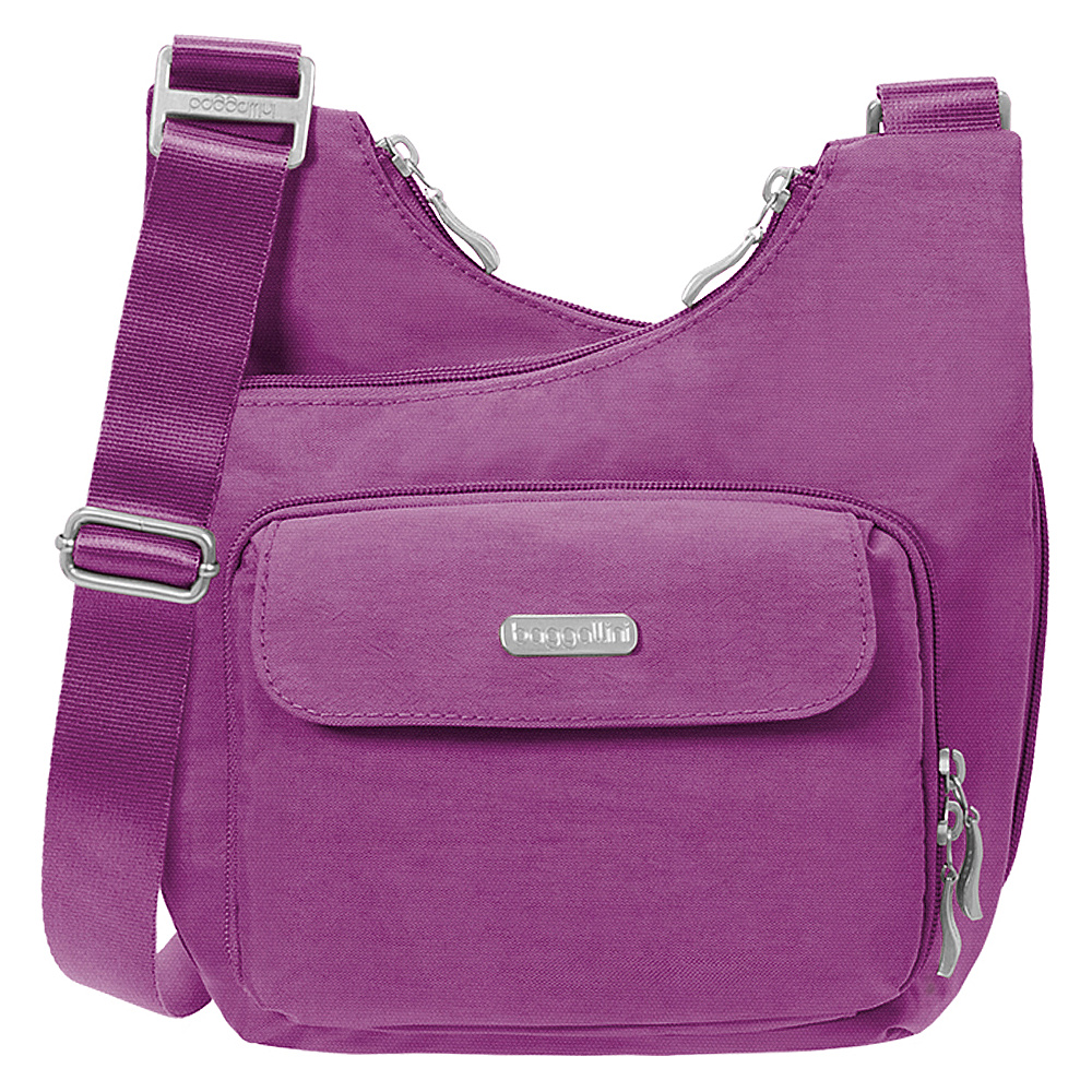 baggallini Criss Crossbody - Retired Colors Magenta - baggallini Fabric Handbags - Handbags, Fabric Handbags