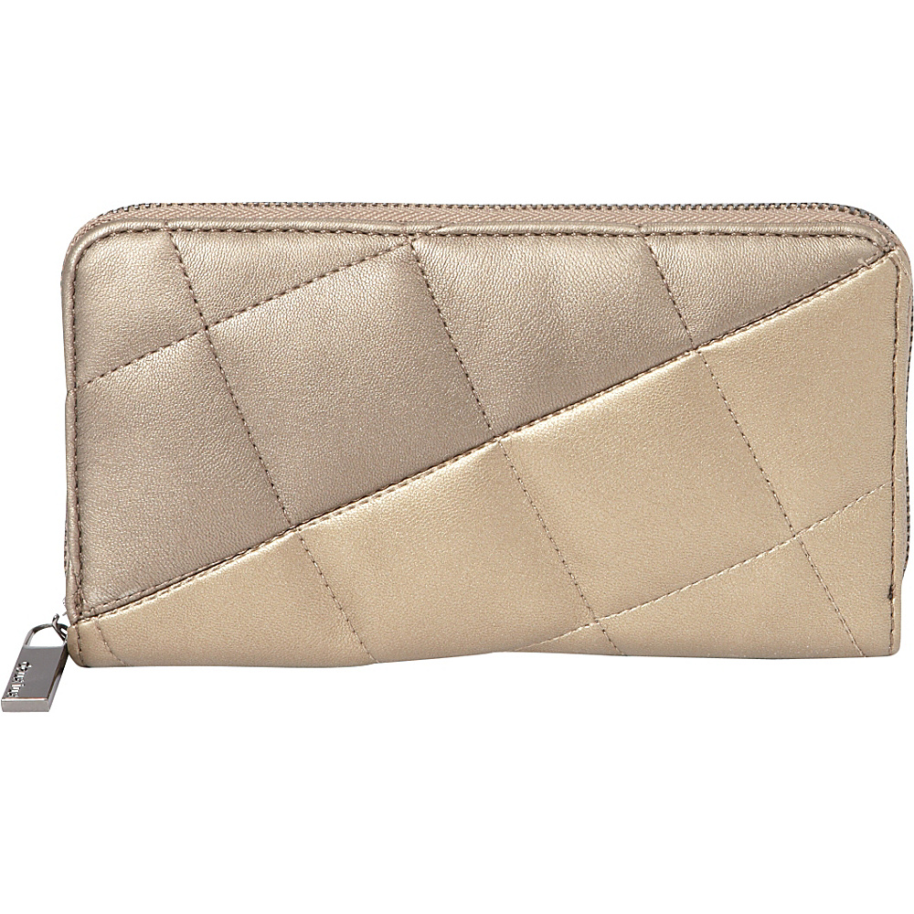 deux lux Billie Zip Wallet Bronze Gold deux lux Women s Wallets