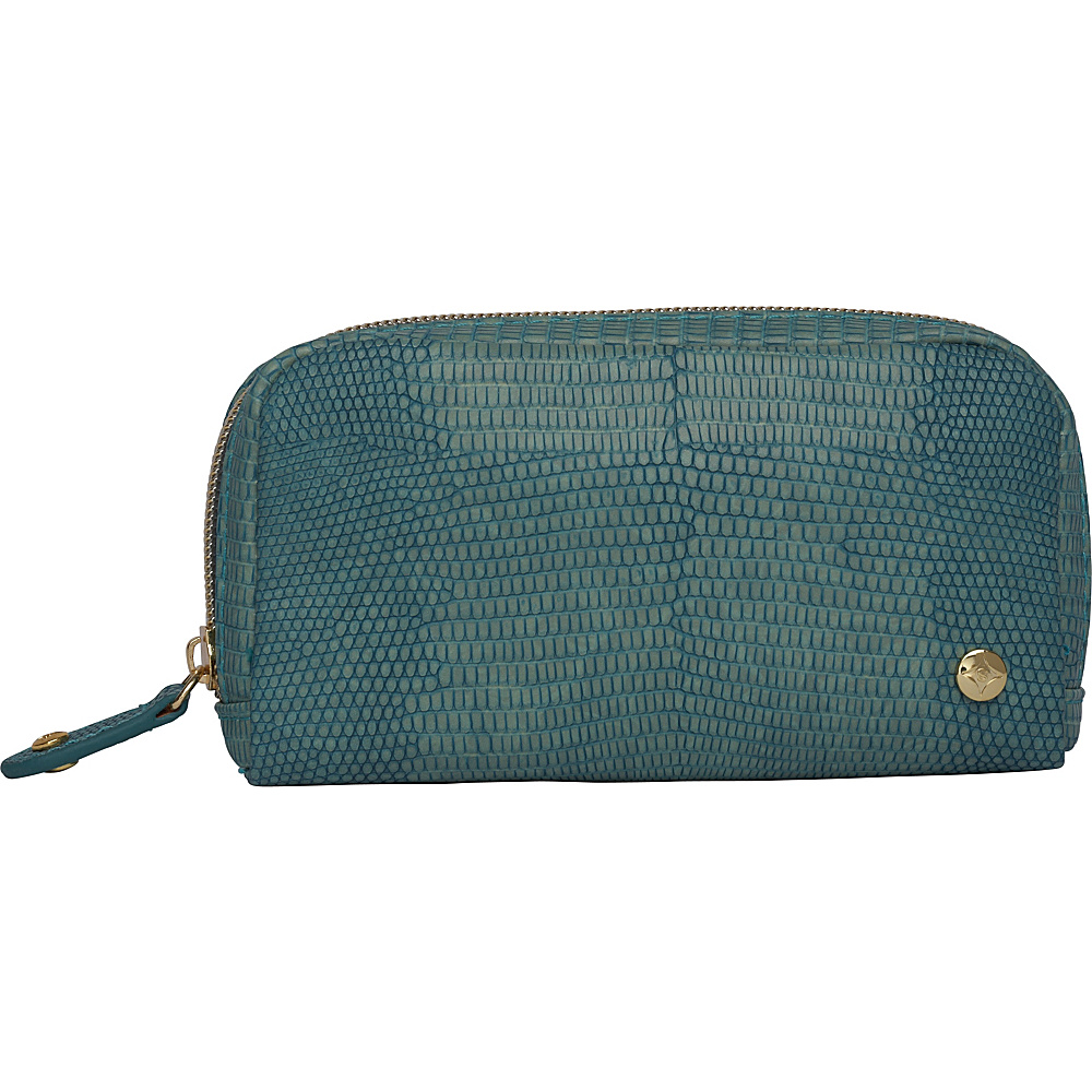 Stephanie Johnson Galapagos Mini Cosmetic Pouch Teal Stephanie Johnson Women s SLG Other