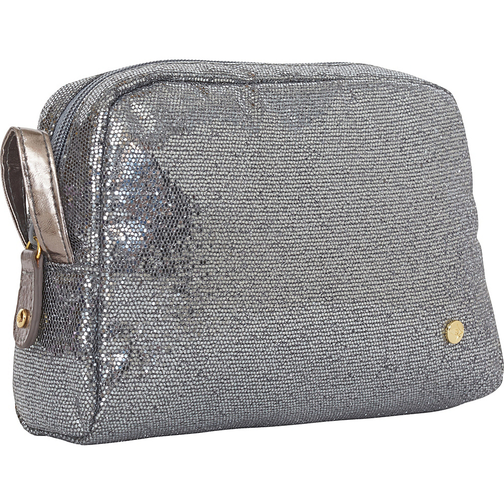 Stephanie Johnson Sunset Greta Medium Cosmetic Case Gunmetal Stephanie Johnson Women s SLG Other