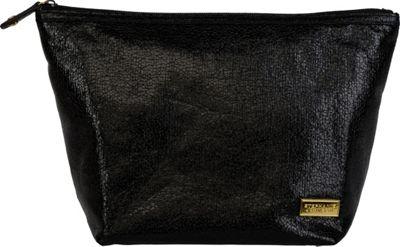 Stephanie Johnson Tinseltown Laura Large Trapezoid Cosmetic Bag Black - Stephanie Johnson Travel Health & Beauty