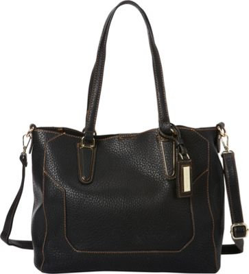 Hush Puppies Micaela Shoulder Bag Black - Hush Puppies Manmade Handbags