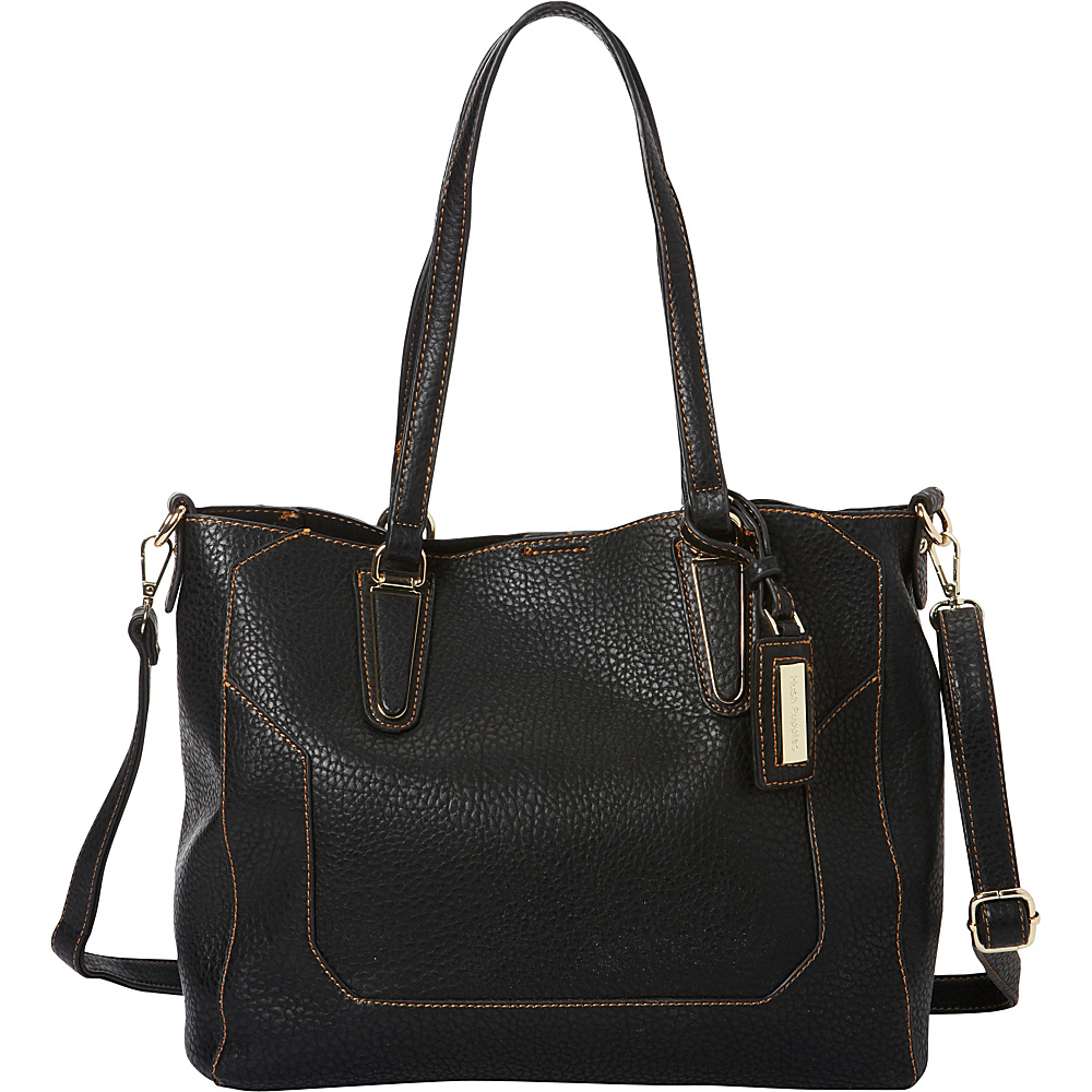 Hush Puppies Micaela Shoulder Bag Black Hush Puppies Manmade Handbags