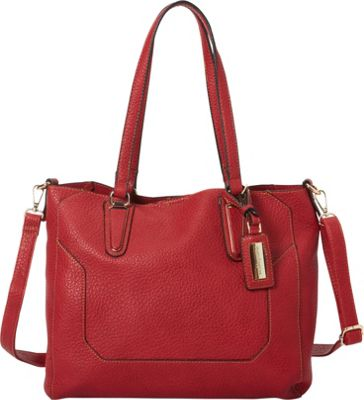 Hush Puppies Micaela Shoulder Bag Red - Hush Puppies Manmade Handbags