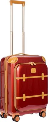 BRIC'S Bellagio 2.0 21 inch Carry-On Pocket Spinner Trunk Shiny Red - BRIC'S Hardside Carry-On