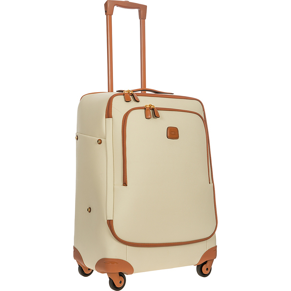 BRIC S Firenze 26 Light Spinner Cream BRIC S Softside Checked