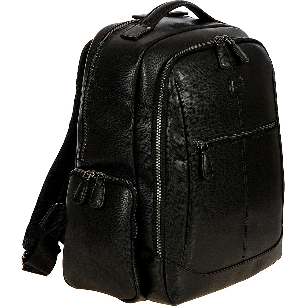 BRIC S Varese Executive Backpack Large Black BRIC S Business Laptop Backpacks