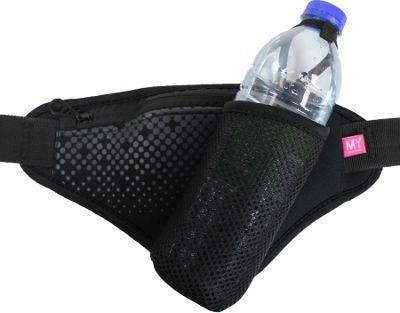 MyTagAlongs Starting Line Hydrate Waistband Black/Black - MyTagAlongs Waist Packs
