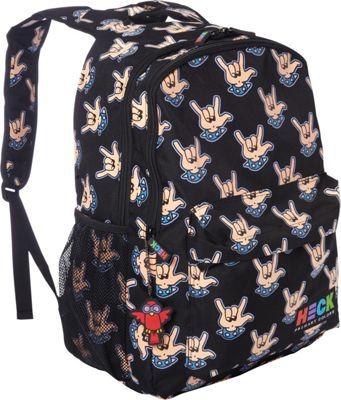 Ed Heck Luggage Rock Hand Laptop Backpack Rock Hand - Ed Heck Luggage Everyday Backpacks