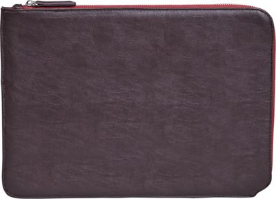 Setton Brothers 13 inch Faux Leather Sleeve Brown - Setton Brothers Electronic Cases