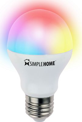 Simple Home Simple Home Multicolor Smart LED Bulb Multicolor - Simple Home Smart Home Automation