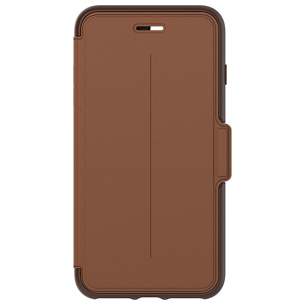 Otterbox Ingram iPhone 7 Plus Strada Series Folio Case Burnt Saddle Otterbox Ingram Electronic Cases