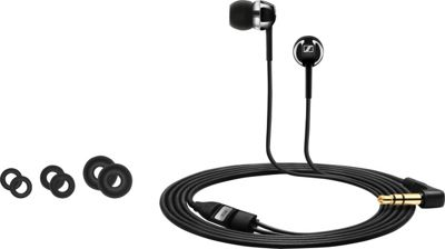 Sennheiser CX100 In-Ear Canal Headphones Black - Sennheiser Headphones & Speakers
