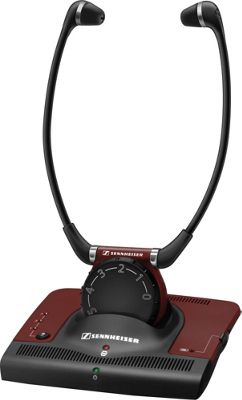 Sennheiser Infrared Stethoset Headphones Burgundy - Sennheiser Headphones & Speakers
