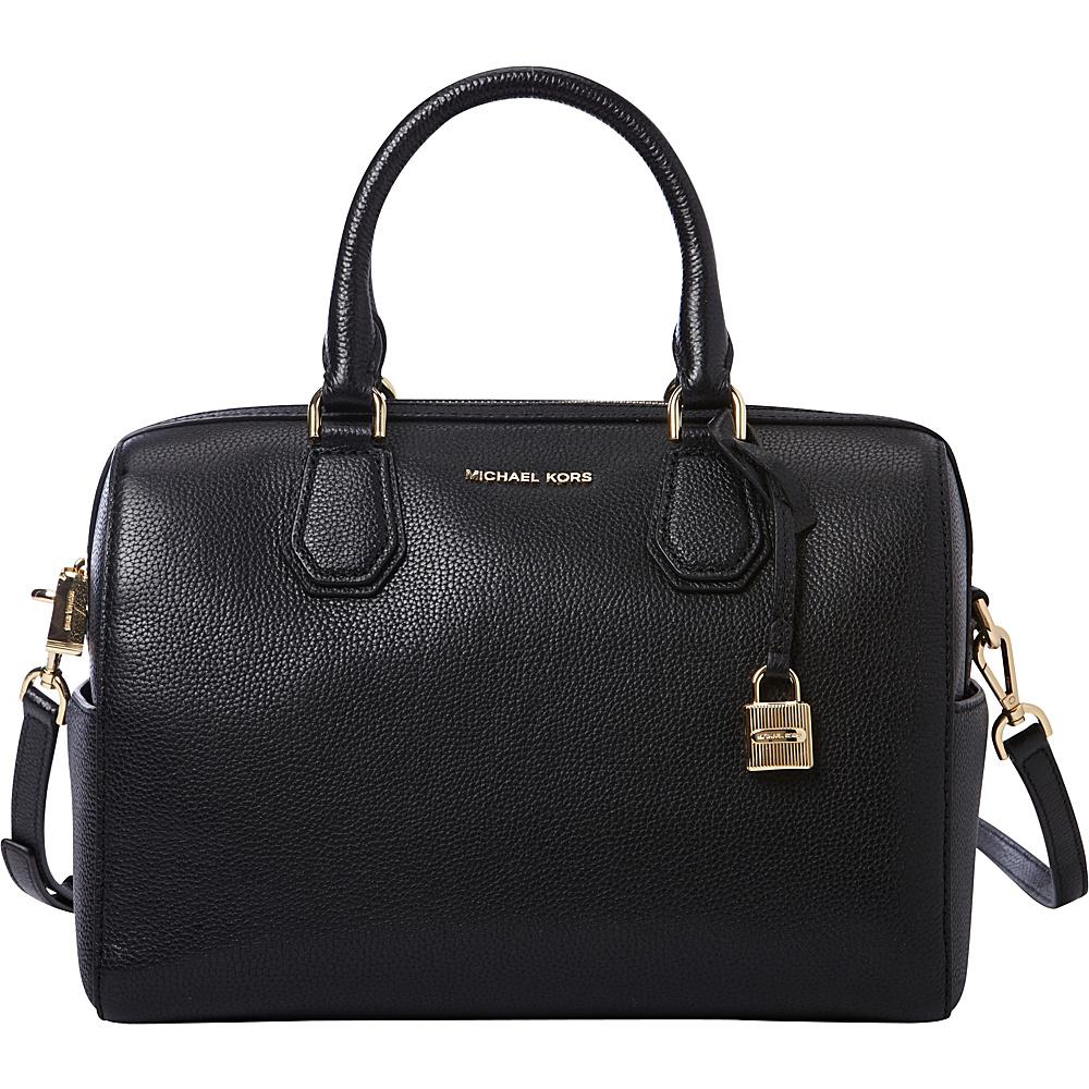 MICHAEL Michael Kors Mercer Medium Duffle Black MICHAEL Michael Kors Designer Handbags