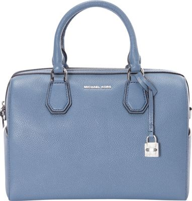 MICHAEL Michael Kors Mercer Medium Duffle Denim - MICHAEL Michael Kors Designer Handbags