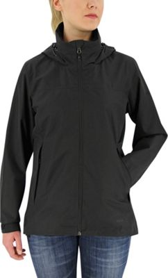adidas outdoor Womens Gtx 2-Layer Wandertag Jacket XS - Black - adidas outdoor Women's Apparel