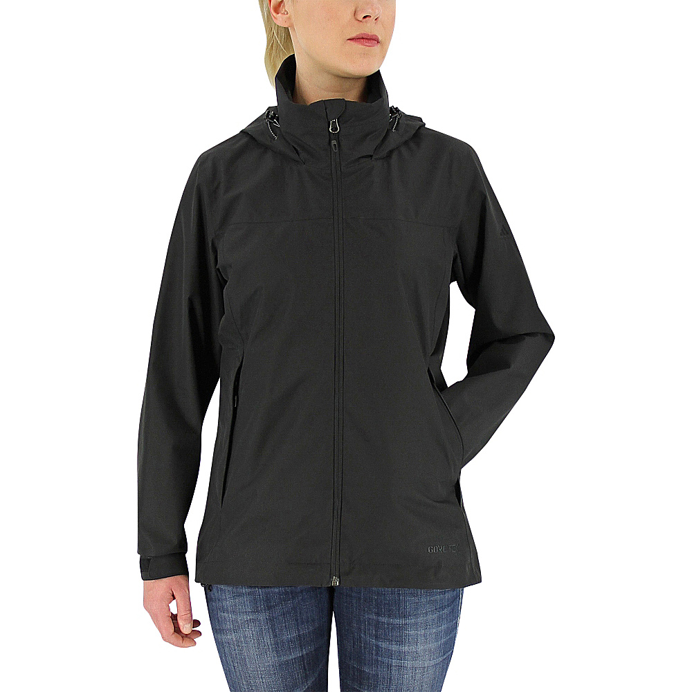 adidas outdoor Womens Gtx 2-Layer Wandertag Jacket M - Black - adidas outdoor Womens Apparel - Apparel & Footwear, Women's Apparel