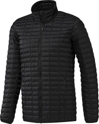 Image of adidas apparel Mens Flyloft Jacket L - Black/Utility Black - adidas apparel Men's Apparel