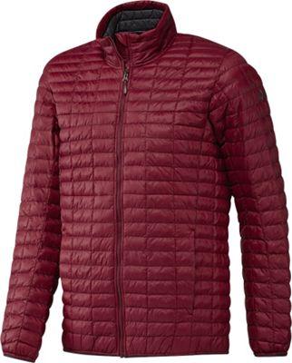 Image of adidas apparel Mens Flyloft Jacket S - Col. Burgundy/Utility Black - adidas apparel Men's Apparel