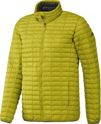 Image of adidas apparel Mens Flyloft Jacket L - Unity Lime/Utility Ivy - adidas apparel Men's Apparel