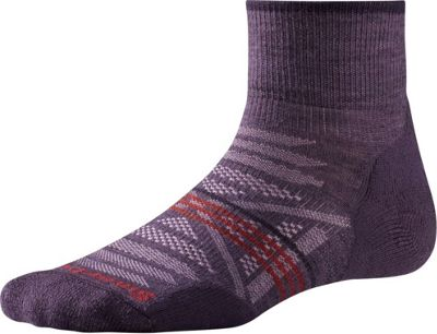Smartwool Womens PhD Outdoor Light Mini S - Desert Purple - Large - Smartwool Women's Legwear/Socks