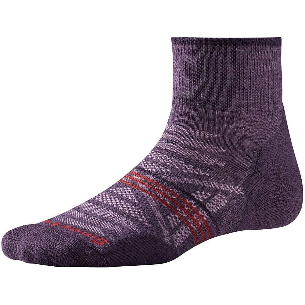 Smartwool Womens PhD Outdoor Light Mini Desert Purple Small Smartwool Women s Legwear Socks