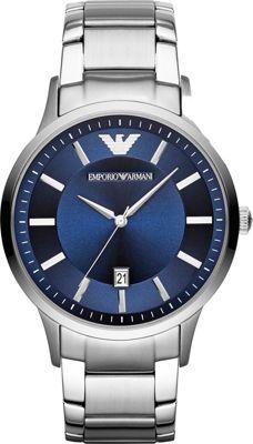 Emporio Armani Classic Watch Silver - Emporio Armani Watches