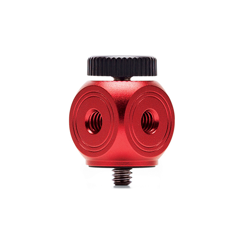 Joby 1 4 20 Hub Adapter Red Joby Camera Accessories
