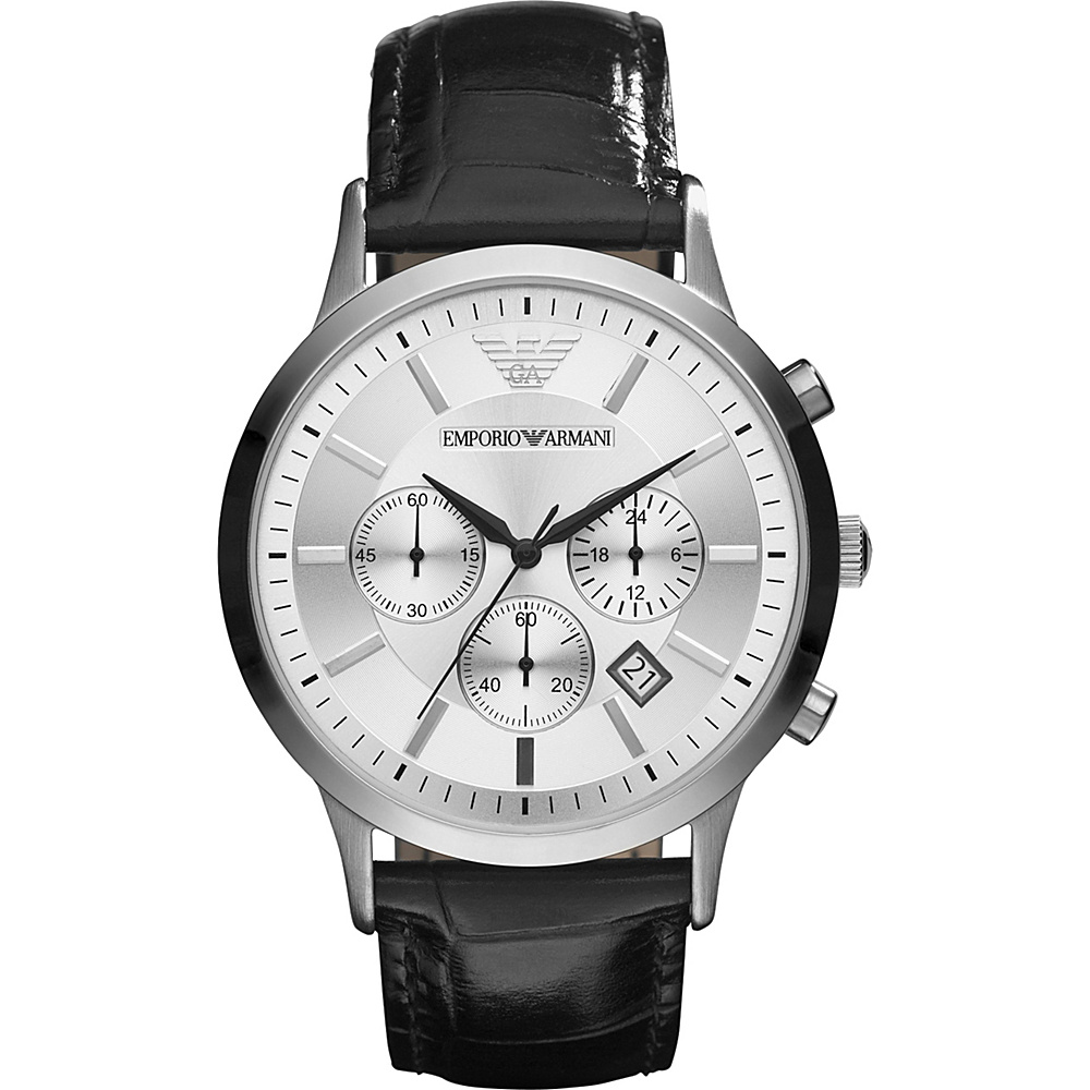 Emporio Armani Classic Watch Black Emporio Armani Watches