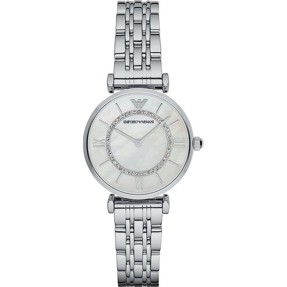 Emporio Armani Classic Watch Silver Emporio Armani Watches