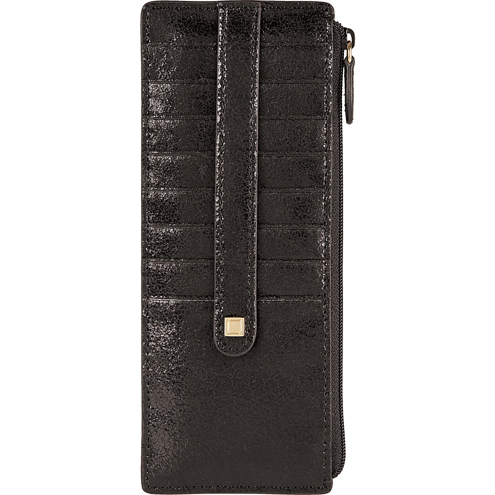 Lodis Vanessa Variety Credit Card Case with Zipper Pocket Black - Lodis Womens Wallets - Women's SLG, Women's Wallets