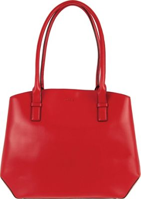 Lodis Audrey Patty Brief Red/Black - Lodis Leather Handbags
