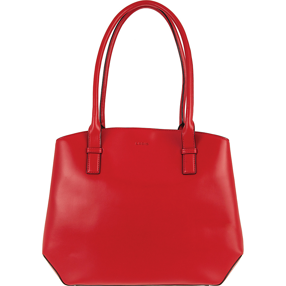 Lodis Audrey Patty Brief Red/Black - Lodis Leather Handbags - Handbags, Leather Handbags