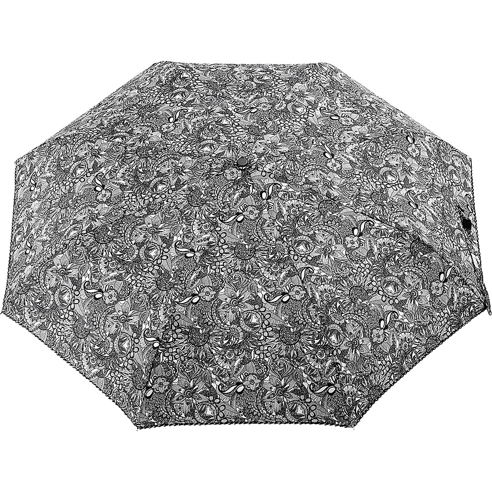 Sakroots Artist Circle Boxed Umbrella Black & White Spirit Desert - Sakroots Umbrellas and Rain Gear - Fashion Accessories, Umbrellas and Rain Gear