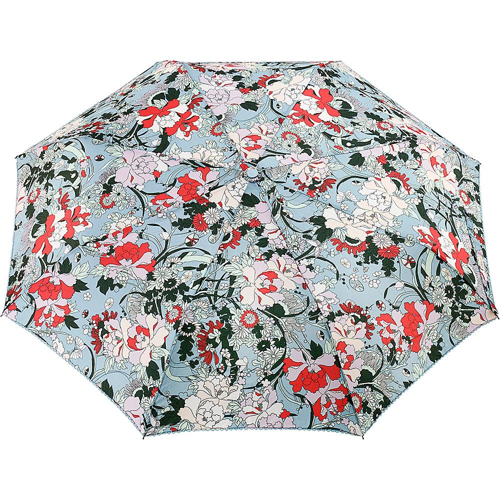 Sakroots Artist Circle Boxed Umbrella Sky Blue Flower Power - Sakroots Umbrellas and Rain Gear - Fashion Accessories, Umbrellas and Rain Gear