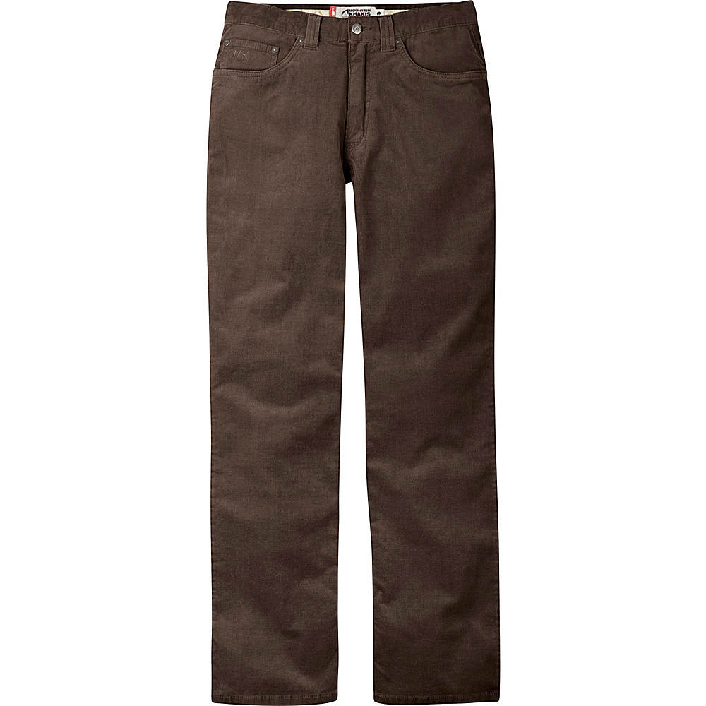 Mountain Khakis Canyon Cord Pant Classic Fit 42 - 30in - Coffee - Mountain Khakis Mens Apparel - Apparel & Footwear, Men's Apparel