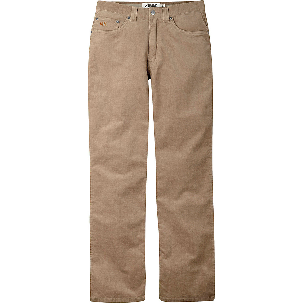 Mountain Khakis Canyon Cord Pant Classic Fit 38 - 36in - Retro Khaki - Mountain Khakis Mens Apparel - Apparel & Footwear, Men's Apparel