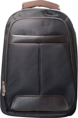 B iconic Titan Laptop Backpack Brown - B iconic Business & Laptop Backpacks