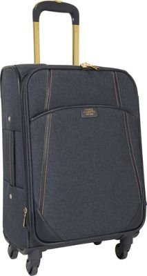 Vince Camuto Luggage Avrilly 20 inch Expandable Spinner Night shadow blue - Vince Camuto Luggage Softside Carry-On