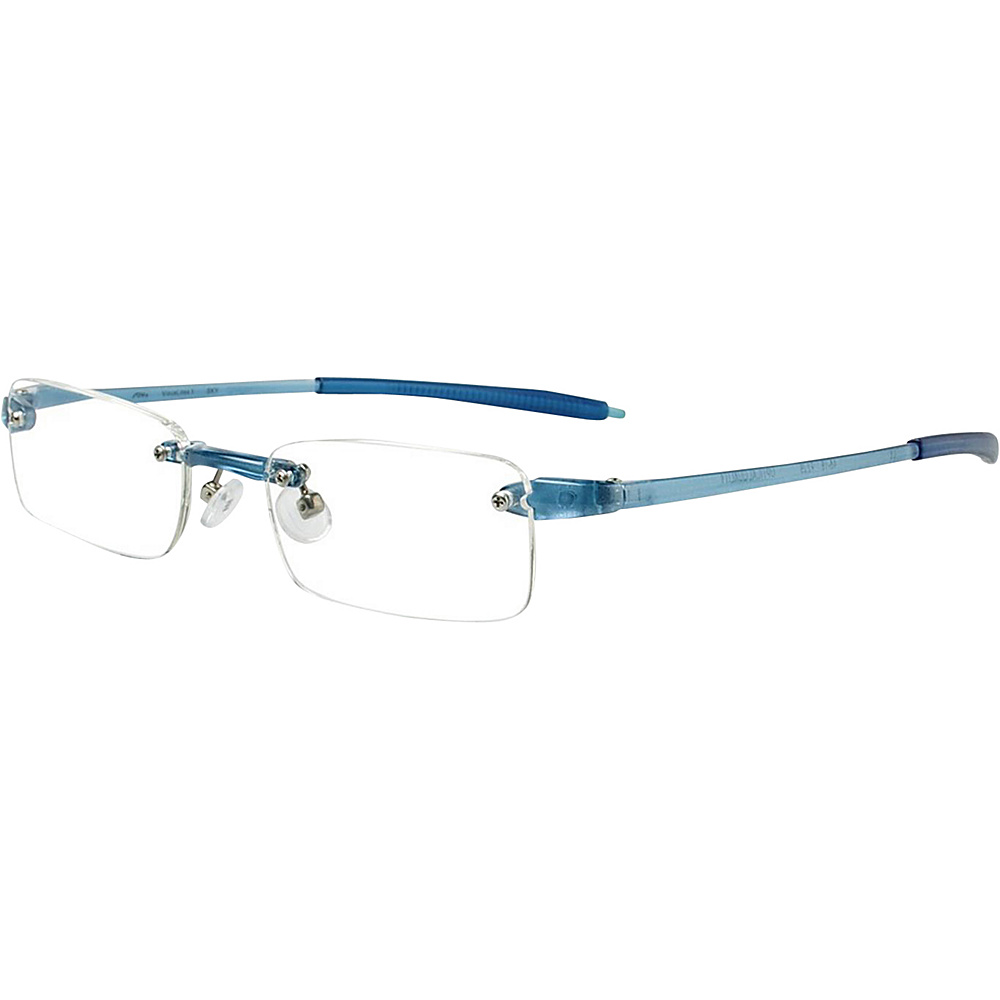 Visualites Rectangle Reading Glasses 2.50 Sky Visualites Sunglasses