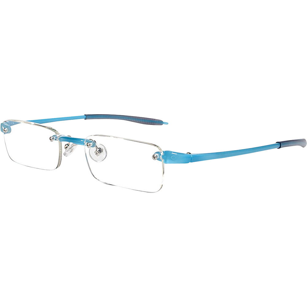 Visualites Rectangle Reading Glasses 1.50 Turquoise Visualites Sunglasses