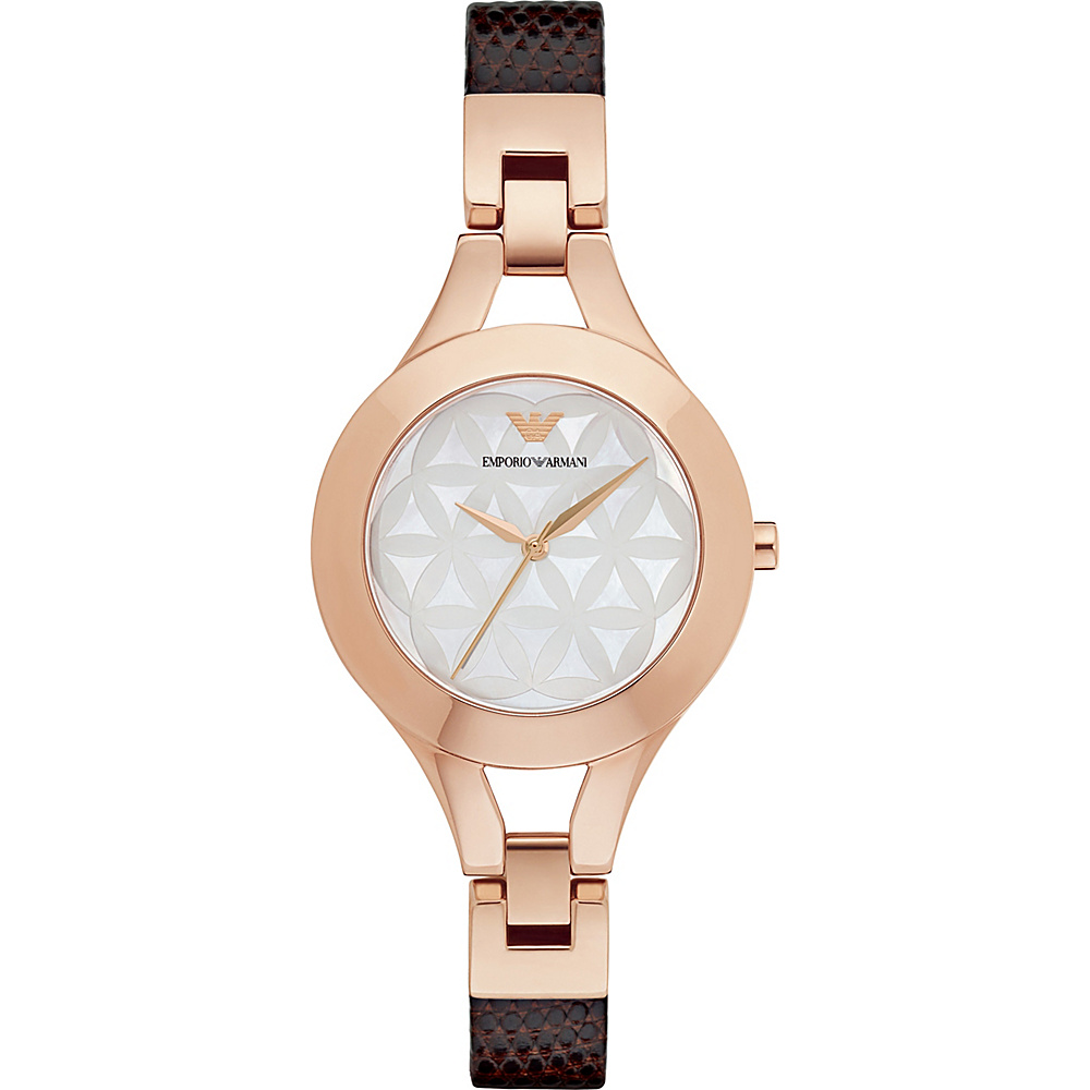 Emporio Armani Dress Watch Brown Emporio Armani Watches