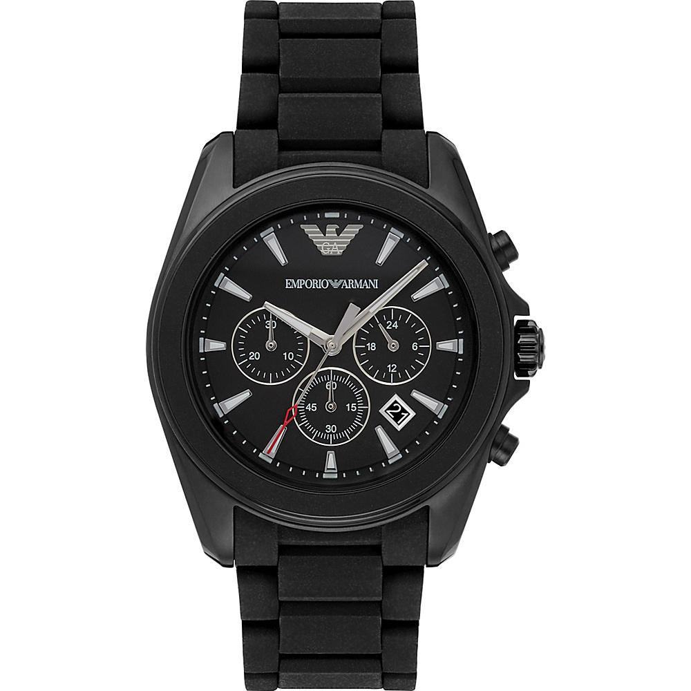 Emporio Armani Sport Watch Black Black Emporio Armani Watches