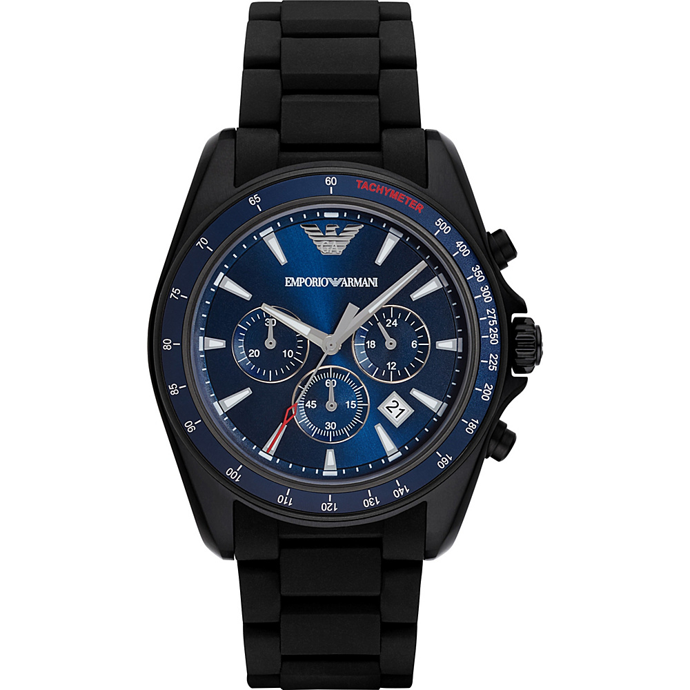 Emporio Armani Sport Watch Black Blue Emporio Armani Watches