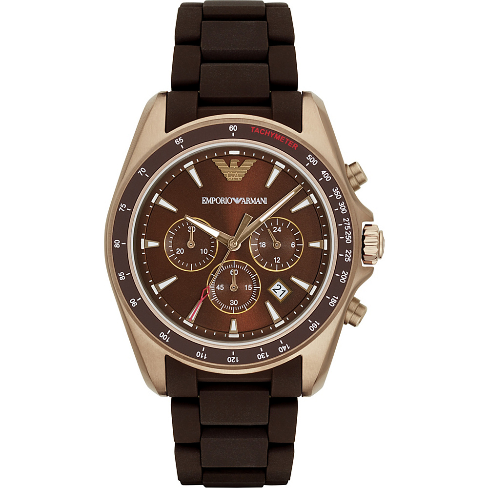 Emporio Armani Sport Watch Brown Emporio Armani Watches
